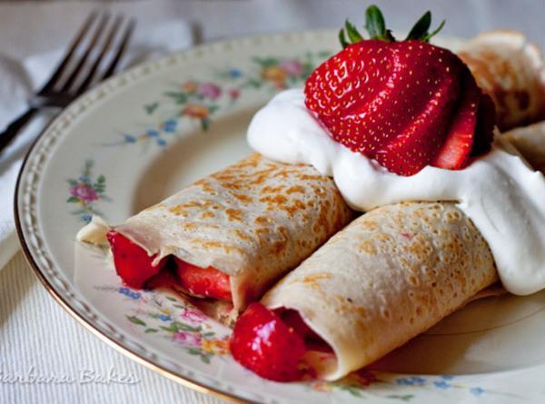 Strawberry Crepe Recipe