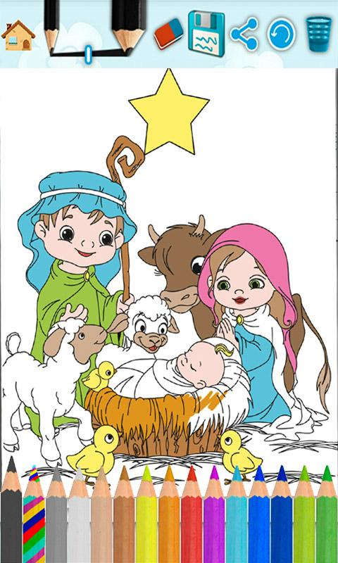kids paint bible coloring book screenshot - Kids Paint Book