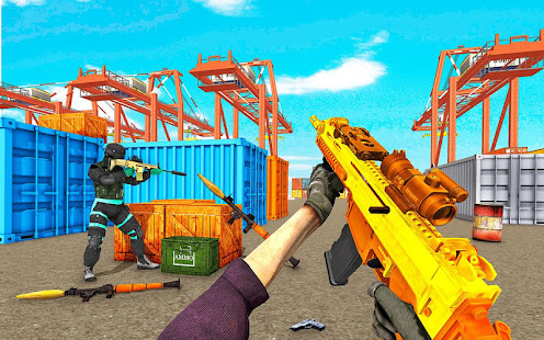 Download Real FPS Battleground 19: Shooting Games for Free For PC Windows and Mac apk screenshot 1