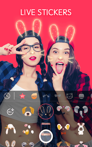 Sweet Snap - live filter,Selfie photo edit  screenshots 2