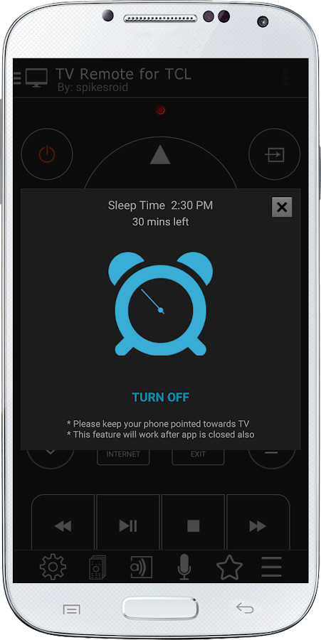 TV Remote for TCL- screenshot