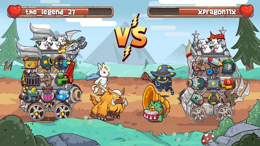 Cat'n'Robot: Idle Defense - Cute Castle TD PVP 2.0.2
