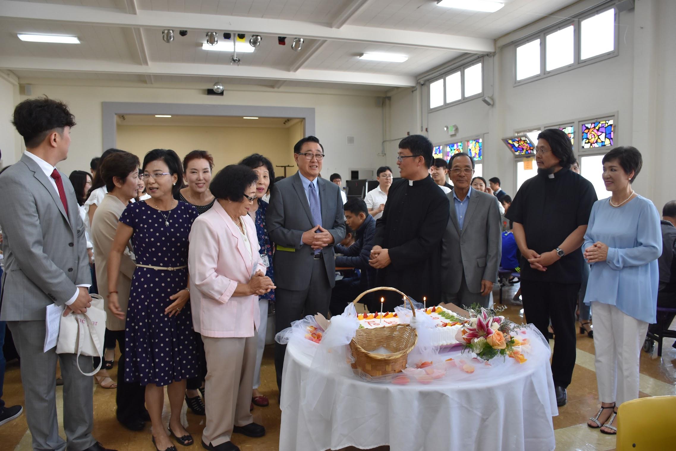 최기홍 바르톨로메오 신부님 영명축일 2018.8.19