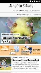 Jungfrau Zeitung screenshot 0
