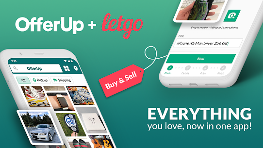 OfferUp: Buy. Sell. Letgo. Mobile marketplace 1