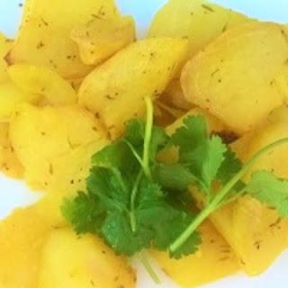 Roasted Greek Lemon Potatoes.