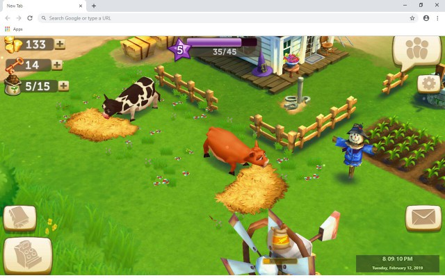 FarmVille 2: Country Escape New Tab Theme