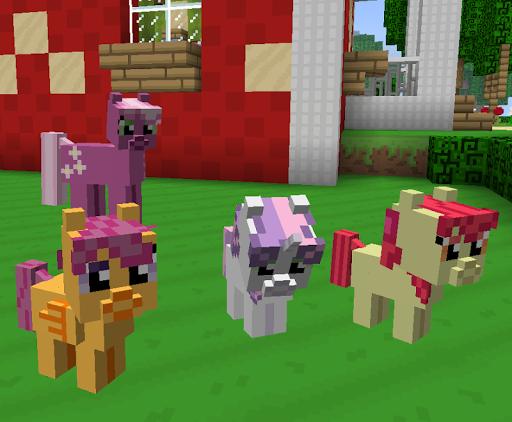 Horses for Minecraft Pocket