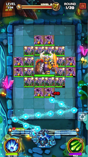 Hero War - Magic vs Monster Bounzy Brick Idle RPG apkdebit screenshots 14