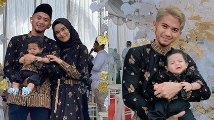 7 Potret Perdana Rizki DA dan Nadya Mustika Bareng Anak, Kompak Pakai Outfit Kembaran - Bikin Netizen Senang Sampai Terharu - KapanLagi.com