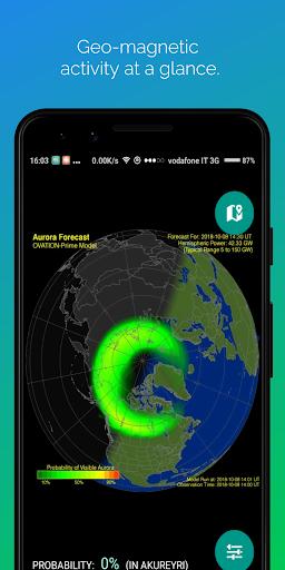 Northern Eye Aurora Forecast 3.3 Screenshots 7