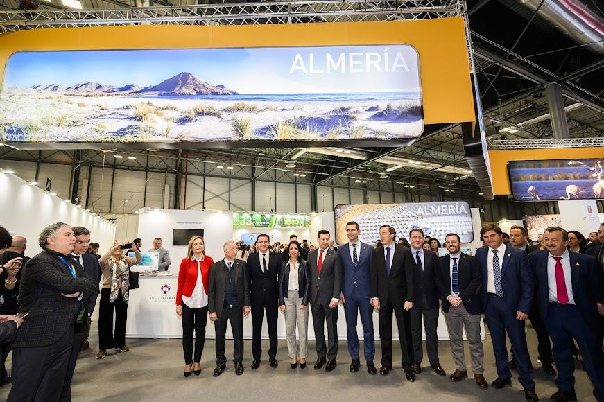 Autoridades políticas de Almería y de la Junta de Andalucía.