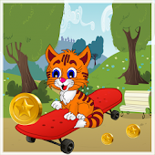 Download Tommy cat trolley run APK
