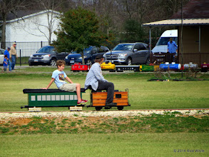 Photo: Case Alexander and Spence Gaskin      HALS Chili Fest Meet 2014-0301 RPW