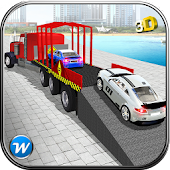 Car Transporter Trailer Truck