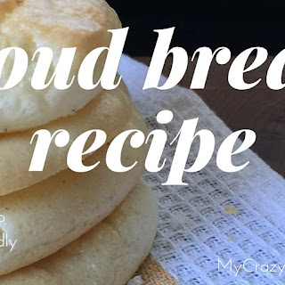 Low Carb Cloud Bread Recipe | Gluten Free Recipe