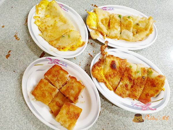 蛋餅喜歡焦酥還是柔軟~中福早餐店~中福蛋餅早點/中福路蛋餅