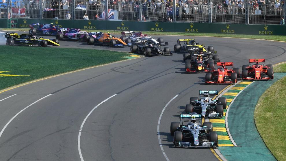 regreso temporada formula 1
