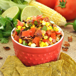 Chipotle Bacon and Corn Salsa