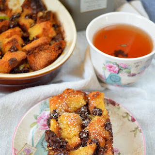 Brioche Chocolate Chip Pudding