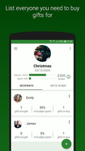 Foto do Gift Tracker - Christmas and Birthday Gift Lists!
