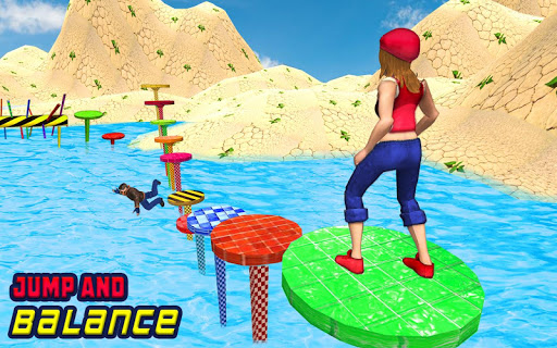 Water Park Games: Stunt Man Run 2018 1.08 Cheat screenshots 1