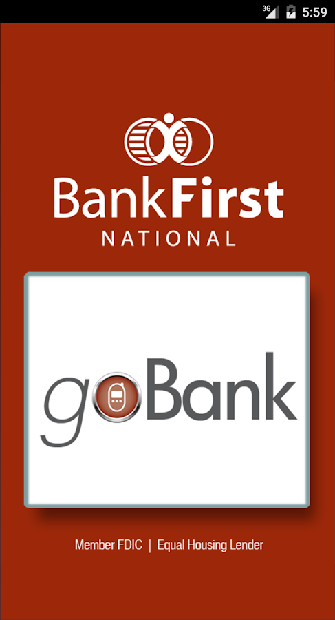 Bank First goBank- screenshot