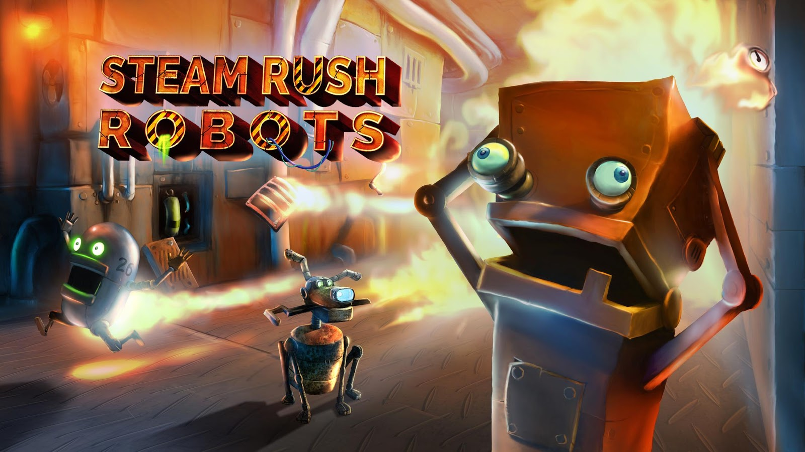 Steam Rush: Robots- screenshot