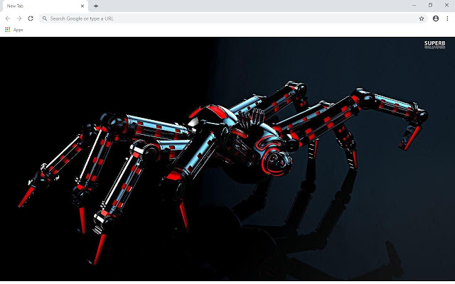 Spider Wallpapers and New Tab