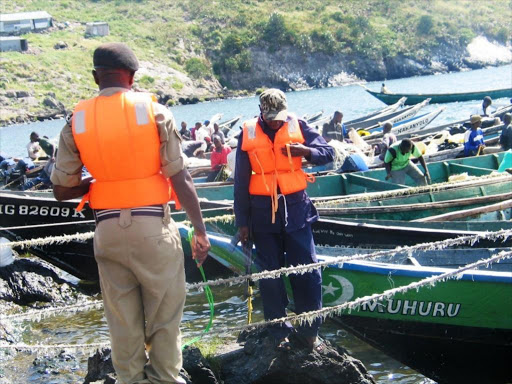 Image result for images of kenyan fishermen being harassed by ugandan officials