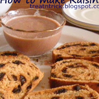 HOW TO MAKE RAISIN BREAD