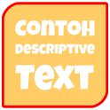 Contoh Descriptive Text icon
