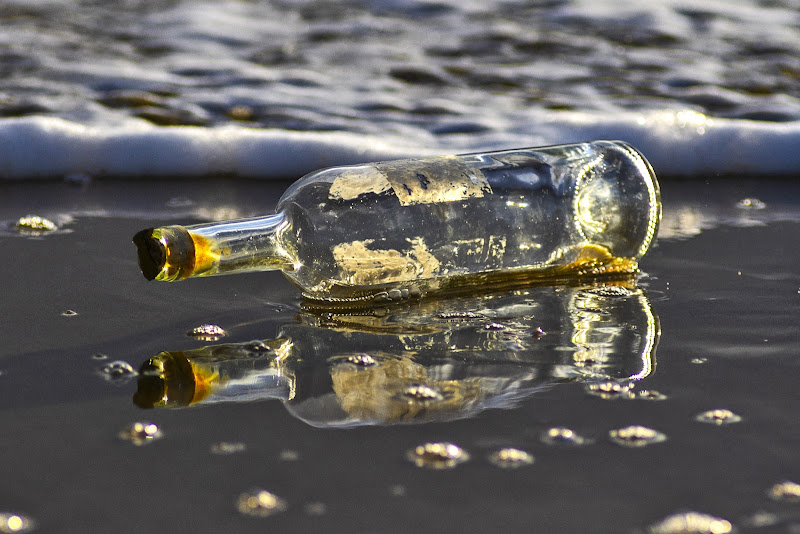 No Message In The Bottle di M.E.G.