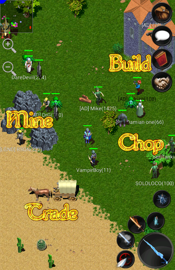 Screenshots of Forgotten Tales MMORPG Online for iPhone