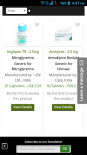 Online Pharmacy India- screenshot thumbnail
