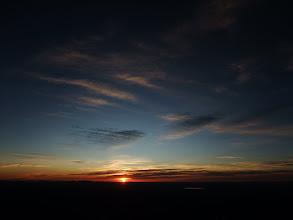 Photo: Sunrise from Hermit's Peak.
