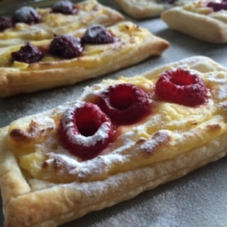 Puff Pastry Fruit Tarts.