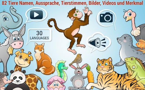 Kinder-Puzzle - lernen 82 Tier Screenshot