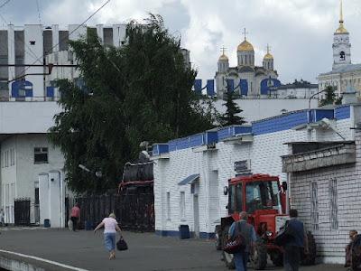 Wladimir, neben Susdal die bekannteste Stadt des Goldenen Ringes.