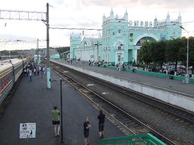 Letzter Halt im Tageslicht in Smolensk.