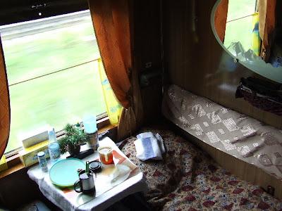 Ansonsten ist ein Lux-Waggon baugleich mit den Kupejny Schlafwagen, ...