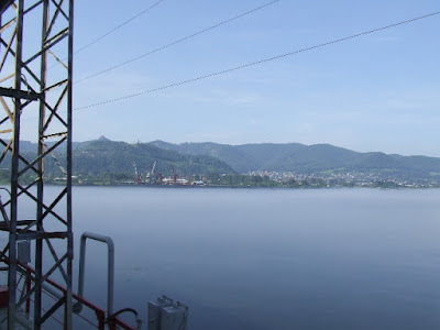 Der Recke Jenissej - der wasserreichste sibirische Strom.