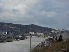 Photo: Citadela v Namuru nad řekou Meuse