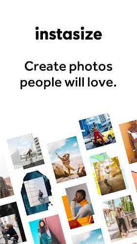 InstaSize: Photo Editing Made Easy Android App Screenshot