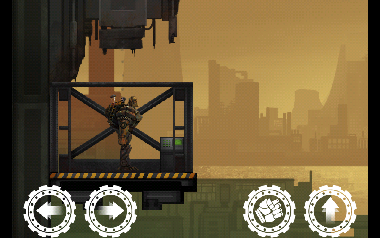 Mech Land: Robot Escape- screenshot