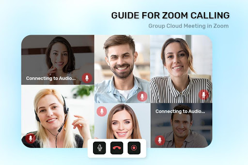 Guide For ZOOM Cloud Meetings VideoCall Conference screenshot 4