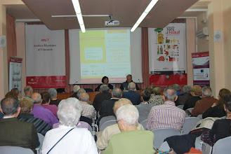 """Photo: Conferència inaugural """"Polítiques locals d'envelliment actiu"""""""