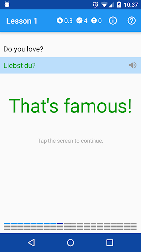 Polyglot. Learn German screenshot