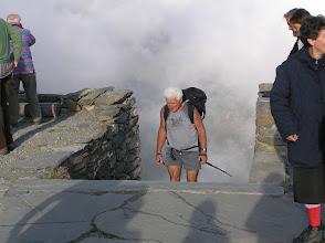 Photo: Guido con il Trittico nello zaino