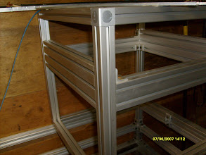 Photo: 600x40mm Frame with motion frame installed
